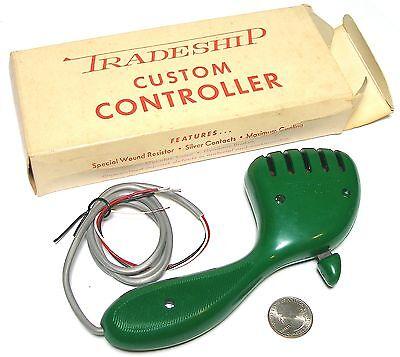 Alligator Clips! 4pc Vintage TRADESHIP 1//24 1//32 Slot Car STANDARD CONTROLLER