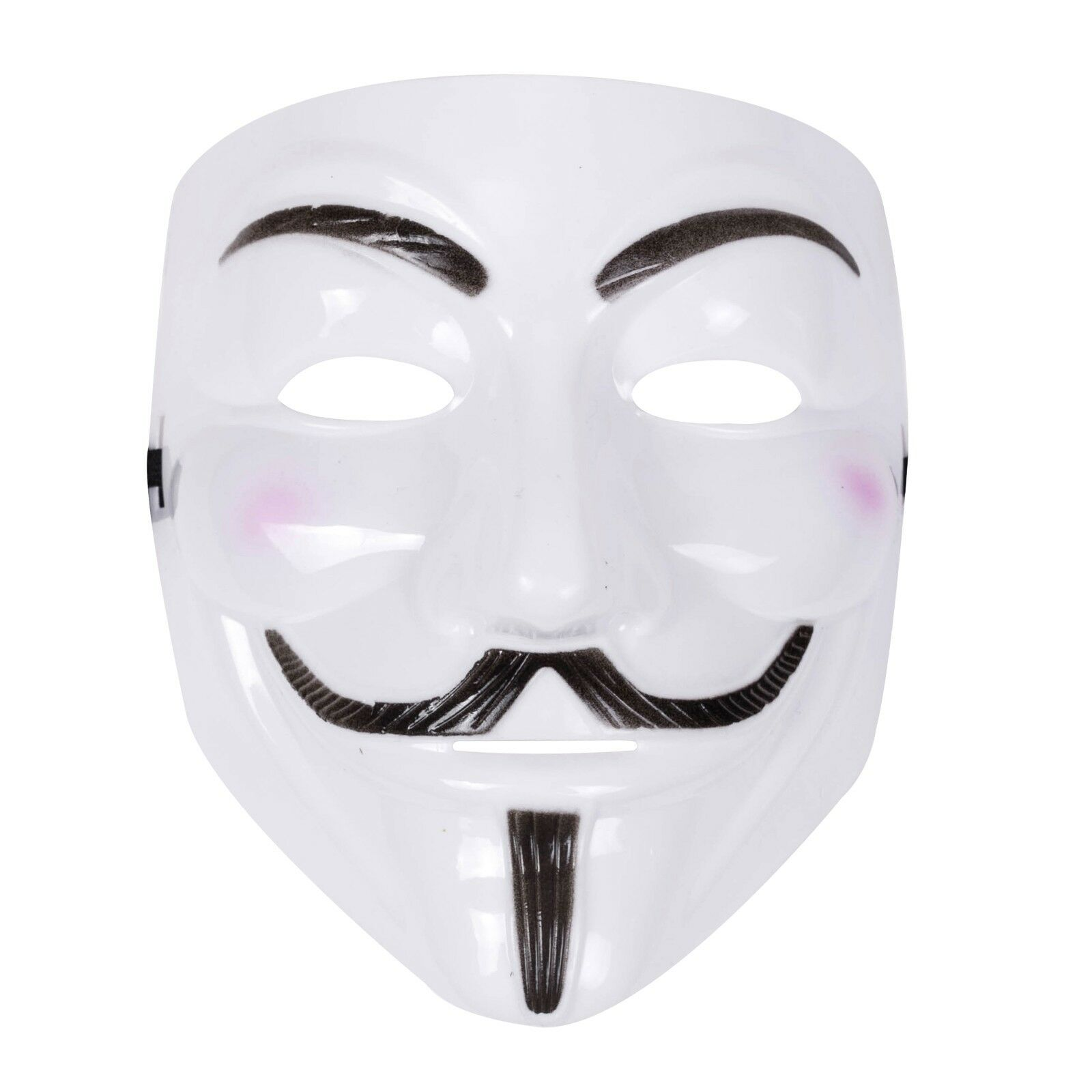 Unisex Anonymous Guy Fawkes Mask 1605 Gunpowder Plot Halloween Fancy Dress Masks