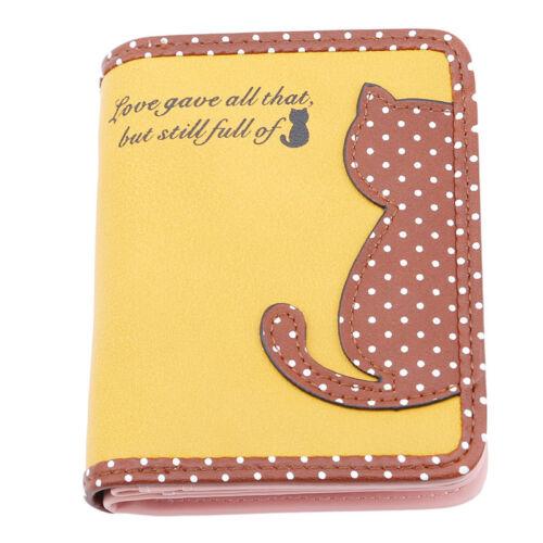 Women Coin Short Purse Card Zipper Wallet Holder Phone Ladies Clutch Handbag Z