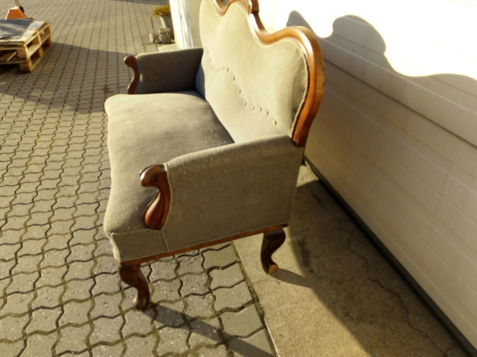 Sofa, andet materiale, 2 pers.