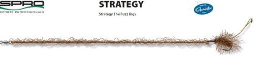 Spro Strategy The Fuzz Specialist Rig gebundene Karpfenhaken Boiliehaken Vorfach