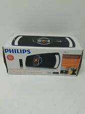 PHILIPS MOTORIZED PORTABLE SPEAKER DOCKING STATION FOR iPOD & iPHONE SBD8100/37