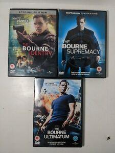 Jason-Bourne-DVD-039-s-Bundle-three-DVDs