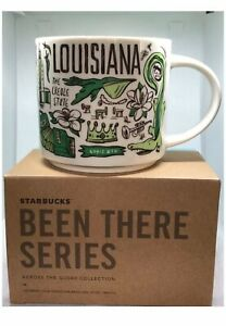 """Starbucks Louisiana """"Been There Series"""" Collection 14oz Mug. NEW In 📦"""