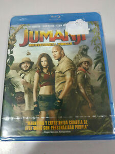 Jumanji-Bienvenidos-a-la-Jungla-Dwayne-Johnson-Blu-ray-Extras-REGION-A-B-C