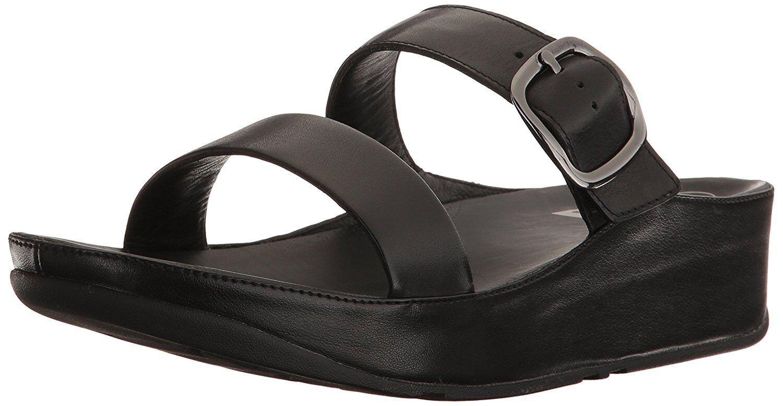 FitFlop Pick Damenschuhe Stack Slide Sandale- Pick FitFlop SZ/Farbe. 31a9e1