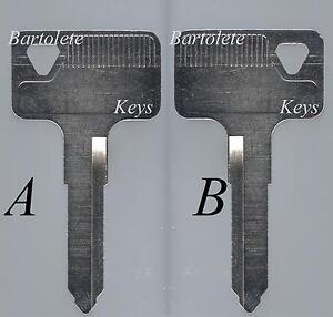 Replacement Key Blank Fits 1996 1997 1998 1999 Suzuki GZ250 GZ 250 SV Hayabusa