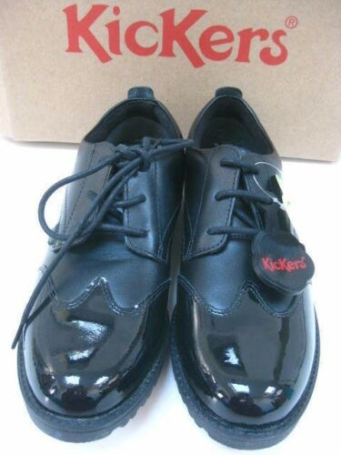Uk Ladies Lachly Brogues 5 Up Leather Size Kickers Lace Patent Derby Shoes vvRrq