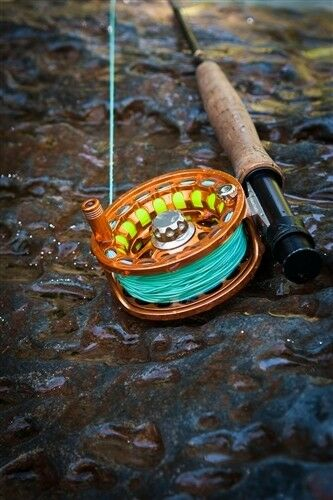 bluee Halo RIPPLE WF Fly Line - 3WT