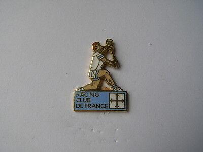 pins tennis RCF racing club de france