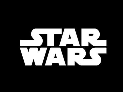 STAR WARS logo filled Vinyl Decal Car Window Wall Sticker CHOOSE SIZE COLOR