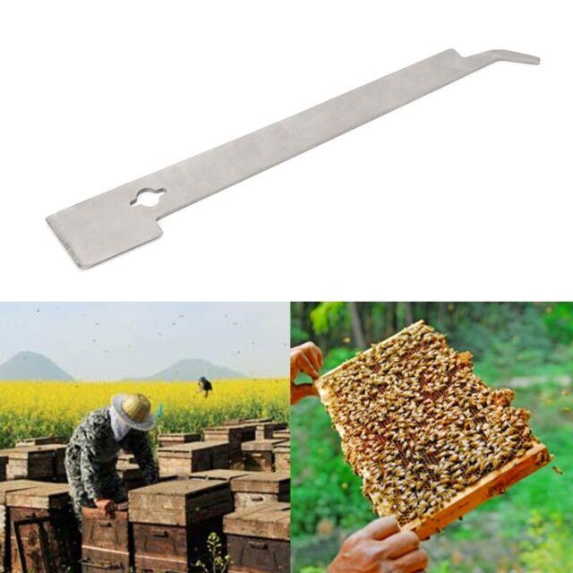 Beekeeper J Shape Hive Beekeeping Bee Hook Equip Steel Stainless Scraper Tools