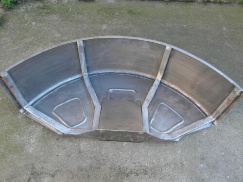 2 x Kotflügel für Deutz D8006 D13006  Blech 2 mm Hersteller Dampol