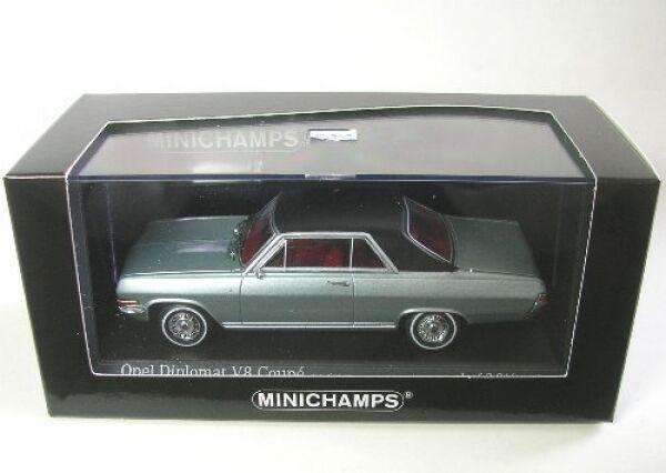 Opel Diplomat V8 Coupé (Negro) 1965
