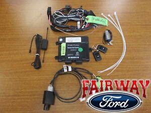 Details about 14 thru 19 Fiesta OEM Genuine Ford Remote Starter Kit w/o  Push-Button Start