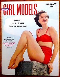 COVER-GIRLS-MODELS-2nd-Issue-Pinup-Magazine-1950-Modern-Man-Claude-Cole-NM