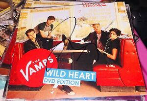 THE-VAMPS-WILD-HEART-DVD-EDITION-SIGNED-VIRGIN-2013-CARRY-ON-VAMPING-DOCUMENTARY