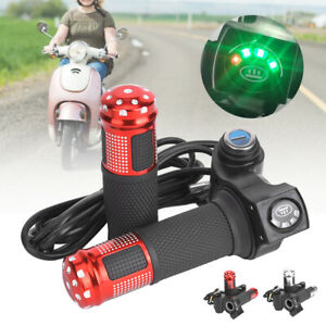 Electric Scooter//Bike Voltage Meter Lock Key Switch Power Thumb Throttle Display