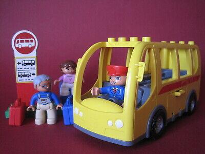 LEGO DUPLO VILLE 5636 Bus Set Bus Schulbus Linienbus