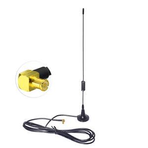 Auto-DAB-Digital-Radio-DAB-Empfaenger-Tuner-MCX-Stecker-Magnetfuss-Antenne