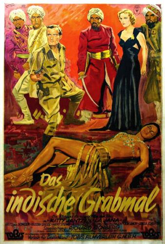 Das Indische Grabmal Richard Eichberg movie poster print