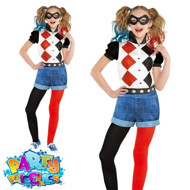 amscan Ladies Suicide Squad Warner Bros Harley Quinn Fancy Dress Costume