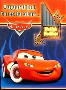 Carte D Anniversaire Joyeux Anniversaire Enveloppe Cars Disney Pixar Officiel Ebay