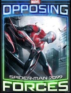 Rare-Tilt-Opposing-Forces-Week-4-Spidey-2099-vs-Maestro-Topps-Marvel-Collect