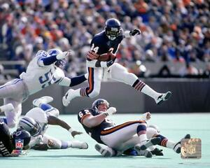 WALTER-PAYTON-CHICAGO-BEARS-8X10-PHOTO-LICENSED-HOLOGRAM-034-AWESOME-PICTURE-034