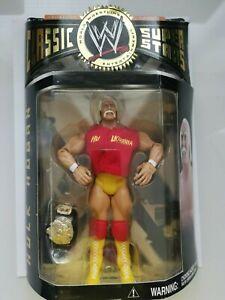 WWE-Clasico-Superstar-Hulk-Hogan-lucha-libre-figura-JAKKS-WWF-Raro