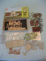 Aurora Postage Stamp N Scale Rural Station 4112-250 Unassembled W/ Box & Decals
