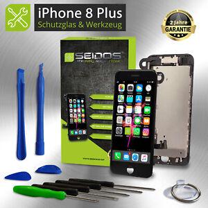 Display-fuer-iPhone-8-PLUS-mit-RETINA-LCD-Glas-VORMONTIERT-Komplett-Front-SCHWARZ
