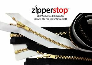Brass-Metal-Zippers-YKK-Number-3-Separating-Zippers-Made-in-USA