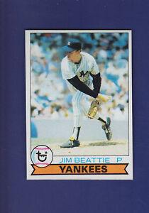 Jim-Beattie-RC-1979-TOPPS-Baseball-179-NM-New-York-Yankees