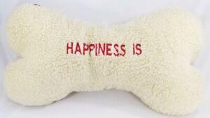 Extra-large-20-034-Fleece-034-Happiness-Is-034-Bone-squonker-plush-toy-dog-puppy-toys-B54