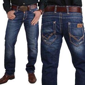 Cipo-amp-Baxx-Herren-Designer-Jeans-Hose-Denim-C-688