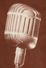 Western Electric 639A Altec ribbon microphone owners manual reprint