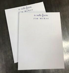 Details About Personalized Notepads With Name Custom Notepad Custom Professional Note Pad