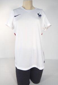 4afac846ada5 Nike Dri Fit White FFF French Football Federation Soccer Jersey ...
