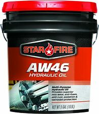 Star Fire Premium Lubricants Aw 46 Hydraulic Oil 5 Gallon Pail