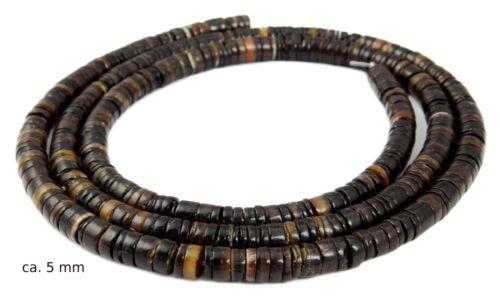 Flaggenmuschel XL-STRAND Heishi Beads Windscreen in 5 /& 8 mm Shell Beads