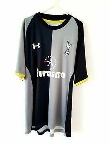 Tottenham Hotspur 3rd Shirt 2012. XXL. Original UA Grey Adults Football Top Only