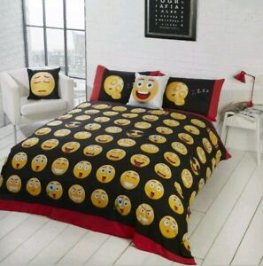 Rapport-icons-Emoji-Multi-Single-Duvet-Set-CHEAPEST-ON-EBAY