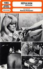 FICHE CINEMA : REPULSION - Deneuve,Hendry,Fraser,Polanski 1965