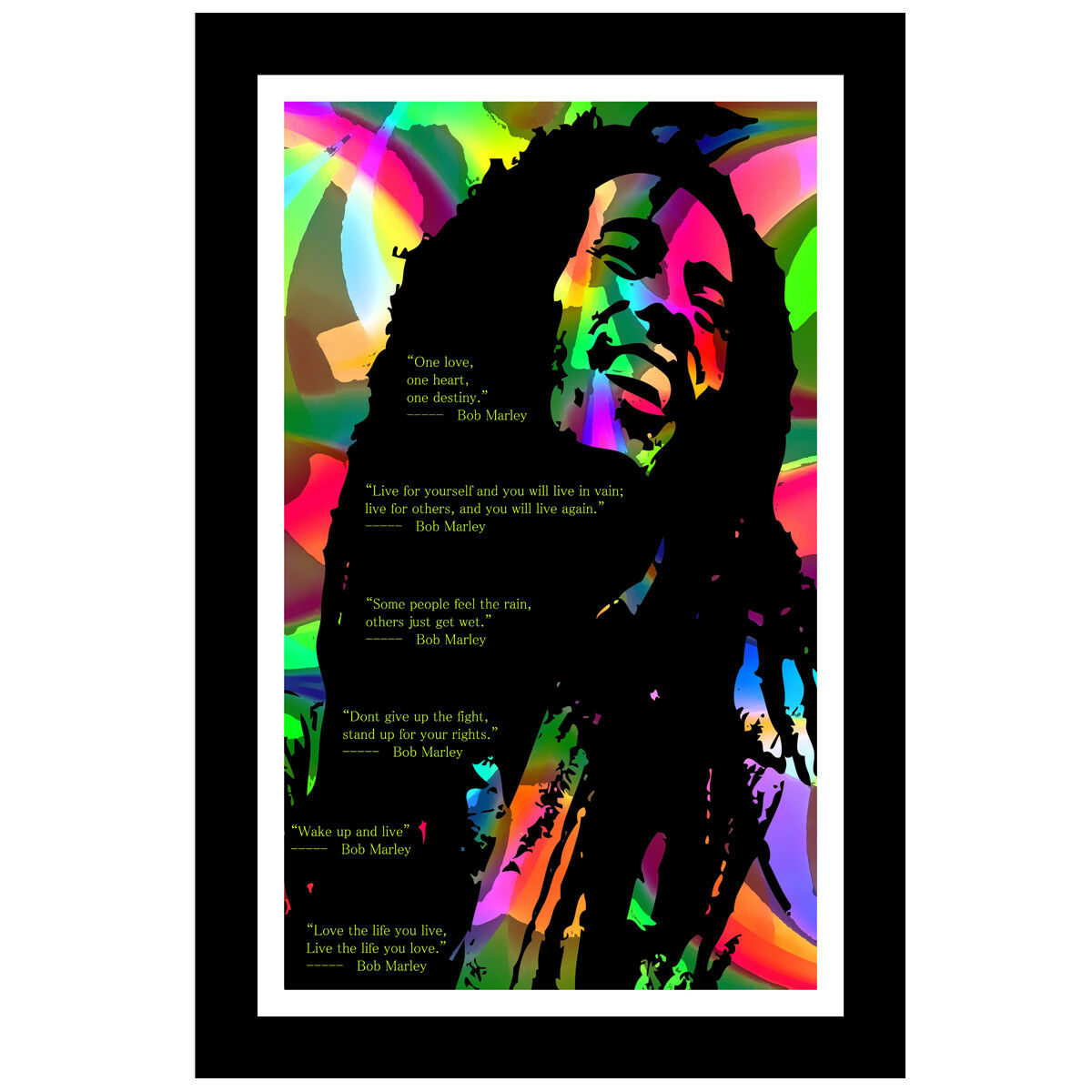 12x36 BOB MARLEY Music Poster Print