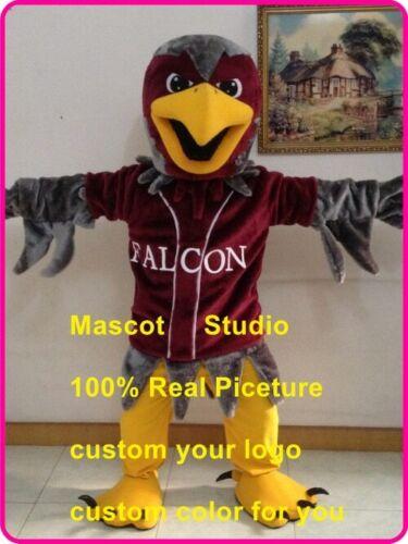 Details about  /Halloween Falcon Mascot Hawk Eagle Mascot Costume Cosplay Mascotte Theme Dress
