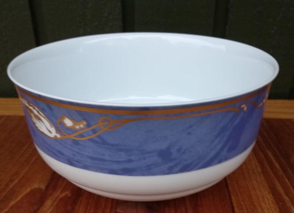 Porcelæn, Skål nr. 577, Blå magnolia