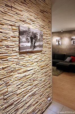 Logisch Musterstein Verblender Gips Steinriemchen Wandverkleidung Wandbelag Venezia Baustoffe & Holz Heimwerker