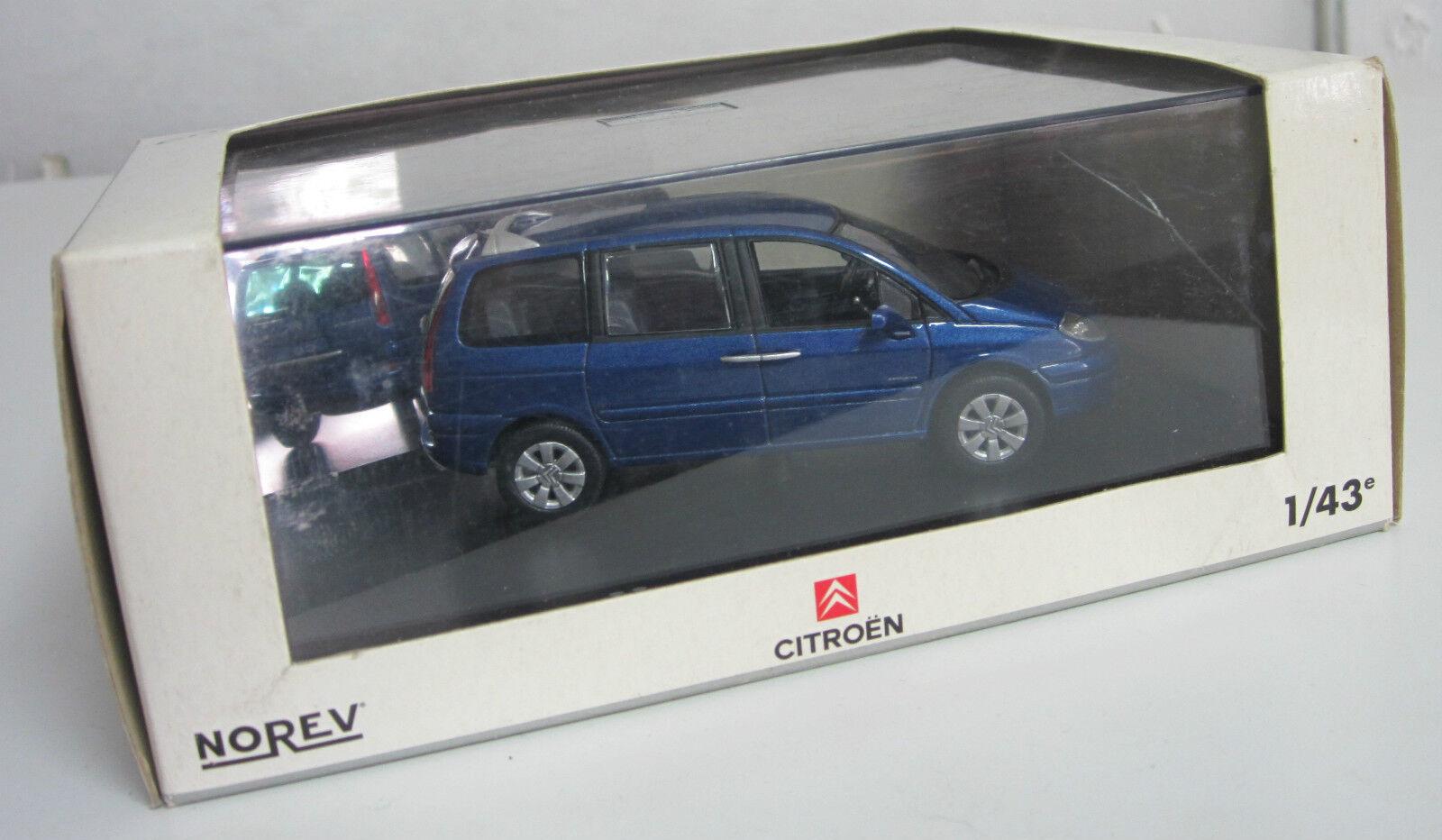 Norev 1 43 Citroën C8 bleu royal neuve en boite