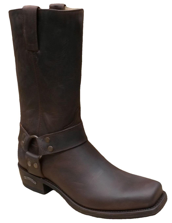 Grandes zapatos con descuento SENDRA BIKER BOOTS 8833 CHOCO * incl. original MOSQUITO ® Stiefelknecht *